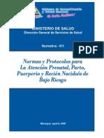 I Normas y protocolos atención prenatal, parto, puerperio