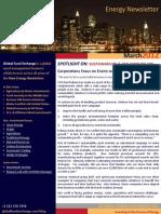 Global Fund Exchange - Anric Blatt - March Newsletter 2012