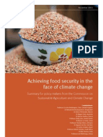 Achieving Food Security uploaded by Anric Blatt