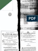 Loto Blanco Marzo 1932