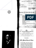 Loto Blanco Enero 1932
