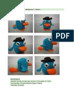 Perry El Ornitorrinco Amigurumi