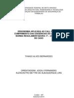 Ergonomia Aplicada Ao CALL CENTER