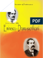 Codreanu, Theodor - Eminescu. Drama sacrificarii