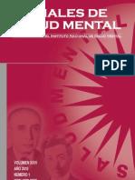 Anales de Salud Mental 2010 Vol XXVI