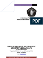 Buku Pedoman Pendidikan Fisip2010