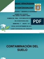 Deasarollo Sostenible - Contaminacion de Suelos