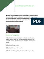 exposicion ABONO ORGÁNICO FERMENTADO TIPO