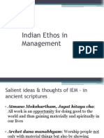 Indian Ethos in Management