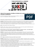 Entrevista Bunker