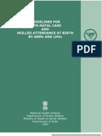 SBA MODULE Guideline for Antenatal Care
