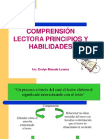 3 Comprension Lectora, Principios y des