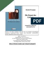 Erich Fromm - Die Kunst des Liebens