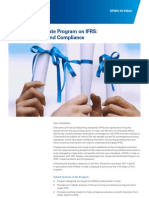 Advanced Certificate Program on IFRS