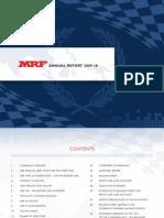 AnnualReport_09-10 MRF TYRE