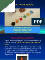 Paper Chromatography ppt