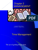 Chapter 02 Time Management