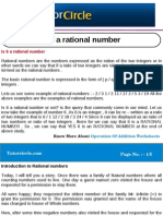 Is 6 a Rational Number