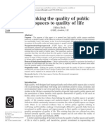 Linking Life Quality and Space