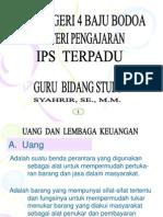 Uang Dan Lembaga Keuangan