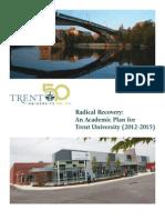 Trent University Academic Plan (2012-2015)