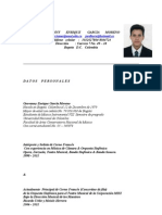 curriculum vitae G. Enrique García M. 2011