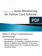 Yellow Card Spontaneous Monitoring