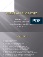 Plant Allelopathy 2
