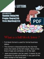 Full Block Ppt