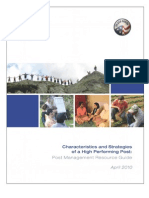 Peace Corps Guide --Characteristics of a High Performing Post