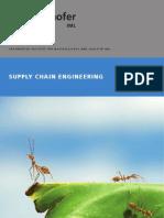 Broschuere Supply Chain Engineering FraunhoferInstitut