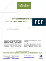 Politica Industrial Vasca. NECESITAMOS UN NUEVO CONSENSO (Es) Basque Industrial Policy. ON NEED OF A NEW CONSENSUS (Es) Euskal Industri Politika. KONTSENTSU BERRI BATEN BEHARREAN (Es)