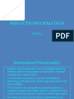 Services Information