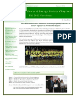 2011 Pes Chapters Newsletter