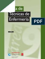 Tecnicas Enfermeras Enfermeria (Sondaje, Cura, Vendaje)