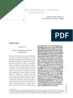 Nueva traducción de la Lex Flavia Malacitana