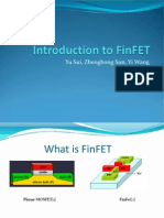 Introduction to Finfets