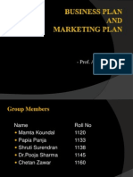 Business Plan Final Ppt