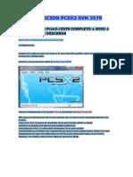 Actualizacion Pcsx2 Svn 3579ps2
