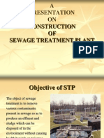 Construction of Sewage Treatment Plant