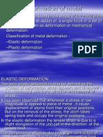 Deformation of Metal