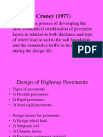 Flexible & Rigid Pavement Design.