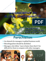 Management in Global Enviornment1