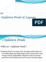 PPT on Oxidation Ponds & Lagoons