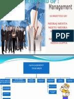 Historical Background of Management 2