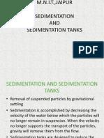 Sedimentation and Sedimentation Tanks