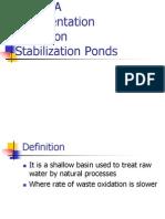 Stabilization Ponds