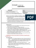 YB-ALD Installation Instructions
