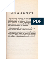 Trading Reality Acknowledgments