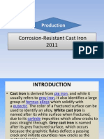 ReportCorrosion-Resistant Cast Iron